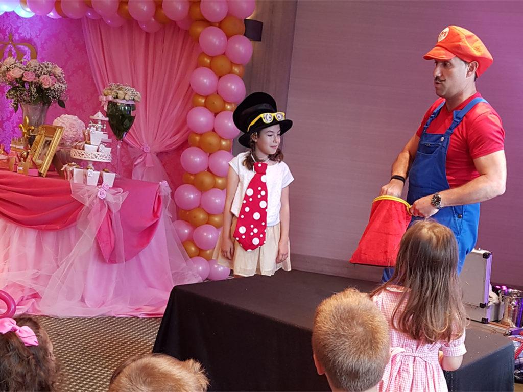 Anniversaire Princesse Mario